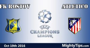 FK Rostov vs Atletico Prediction and Betting Tips