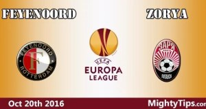 Feyenoord vs Zorya Prediction and Betting Tips