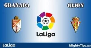 Granada vs Gijon Prediction and Betting Tips