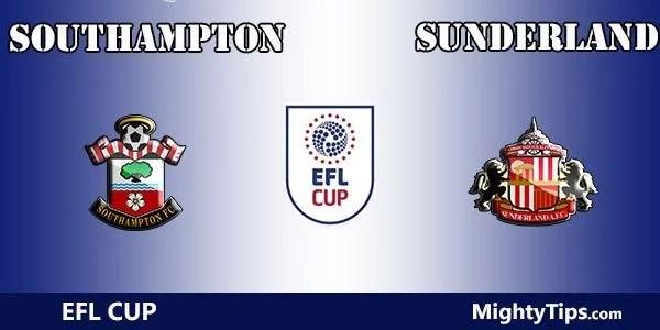 Southampton vs Sunderland Prediction and Betting Tips