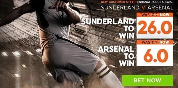Sunderland vs Arsenal Prediction and Bet