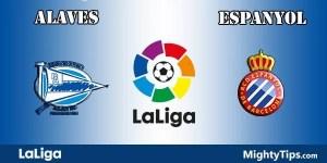 Alaves vs Espanyol Prediction and Betting Tips