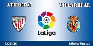Athletic vs Villarreal Prediction and Betting Tips