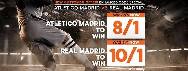 Atletico vs Real Madrid Prediction and Bet
