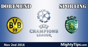 Dortmund vs Sporting Prediction and Betting Tips