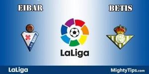 Eibar vs Betis Prediction and Betting Tips