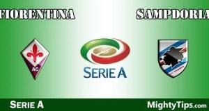 Fiorentina vs Sampdoria Prediction and Betting Tips