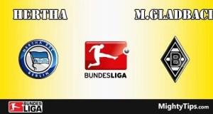 Hertha vs Monchengladbach Prediction and Betting Tips