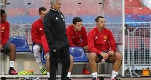 Mourinho and Zlatan Ibrahimovic