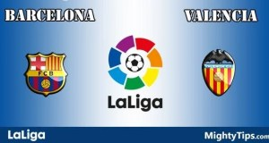 Barcelona vs Valencia Prediction and Betting Tips