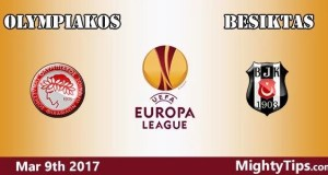 Olympiakos vs Besiktas Prediction and Betting Tips