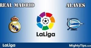 Real Madrid vs Alaves Prediction and Betting Tips