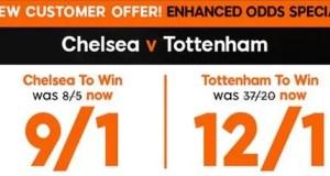 Chelsea vs Tottenham Prediction and Bet