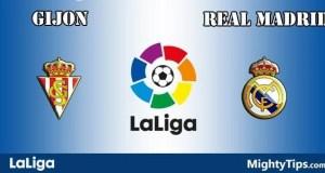 Gijon vs Real Madrid Prediction and Betting Tips