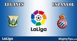 Leganes vs Espanyol Prediction and Betting Tips