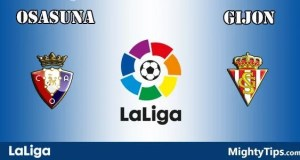Osasuna vs Gijon Prediction and Betting Tips