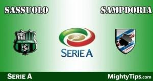 Sassuolo vs Sampdoria Prediction and Betting Tips