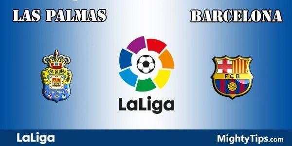 Las Palmas vs Barcelona Prediction and Betting Tips
