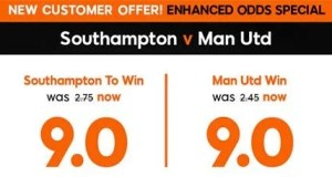 Southampton vs Manchester United Prediction and Bet