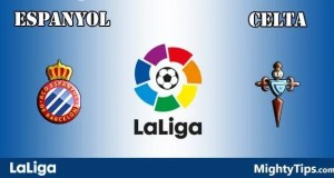 Espanyol vs Celta Prediction, Preview and Bet