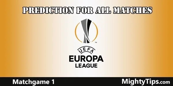 Europa League Predictions Matchday 1