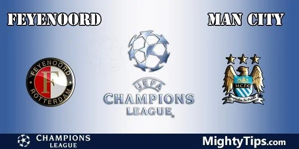 Feyenoord vs Manchester City Prediction, Preview and Bet