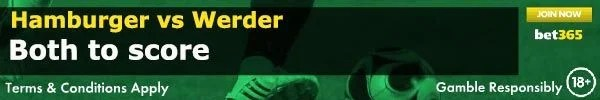 Hamburger vs Werder Prediction and Bet