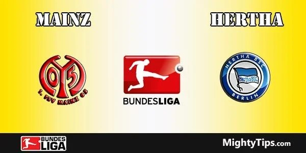 Mainz vs Hertha Prediction, Preview and Bet