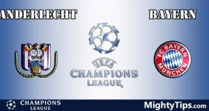 Anderlecht vs Bayern Prediction, Preview and Bet