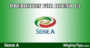 Serie A Predictions and Preview Round 13