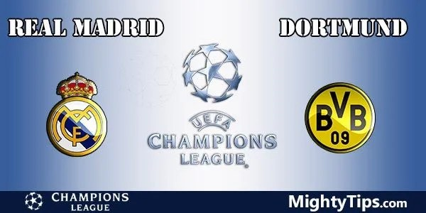 Real Madrid vs Dortmund Prediction, Preview and Bet