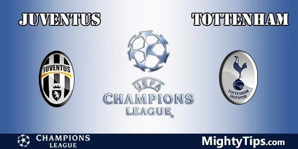 Juventus vs Tottenham Prediction Champions League