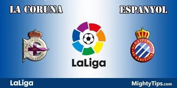 La Coruna vs Espanyol Prediction and Betting Tips