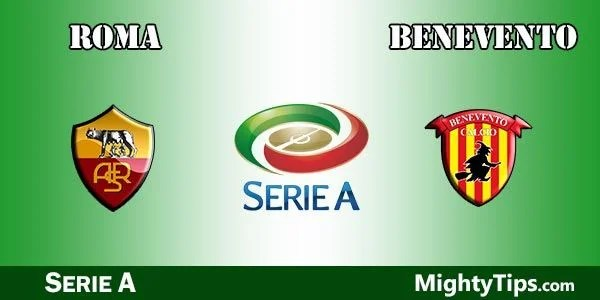 Roma vs Benevento Prediction, Preview and Bet