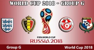 World Cup 2018 - Group G