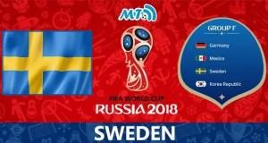 Sweden World Cup 2018