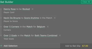England vs Belgium Bet and Prediction