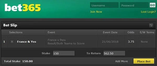 France vs Peru Prediction and Bet