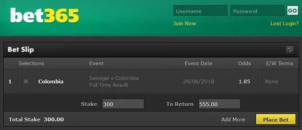 Senegal vs Colombia Prediction and Bet