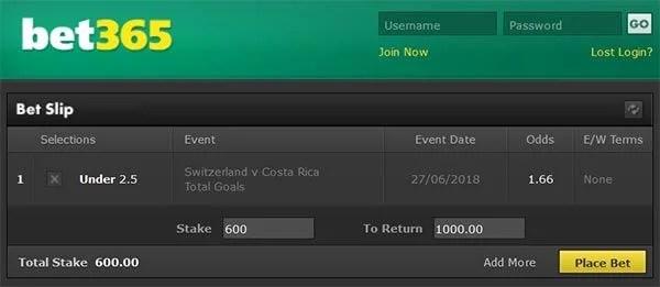 Switzerland vs Costa Rica Prediction