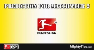 Bundesliga Prediction and Betting Tips Matchweek 2