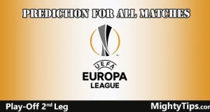 Europa League Prediction Play Off Second Leg