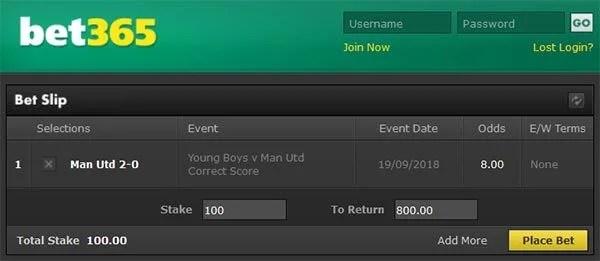 Young Boys vs Man Utd Prediction