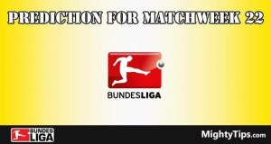 Bundesliga Prediction and Betting Tips Matchweek 22