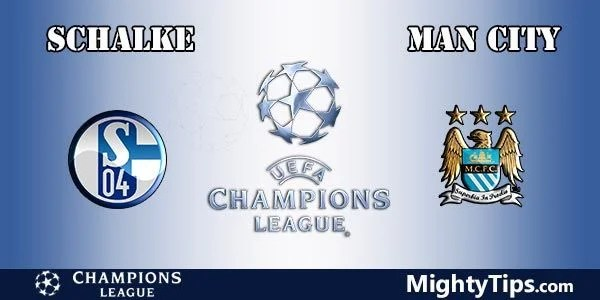 Schalke vs Manchester City Prediction, Preview and Betting Tips