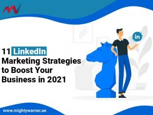 Linkedin Marketing Strategies-MightyWarner.ae_