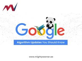 Google Algorithm Updates You Should Know