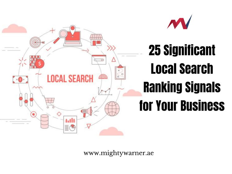 25 Significant Local Search Ranking Signals
