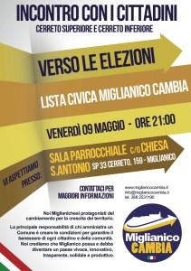 volantino 09 Maggio - Cerreto Sup. Inf.