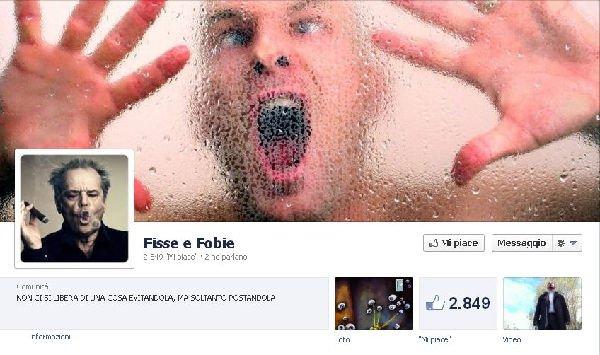 Fisse e Fobie su Facebook